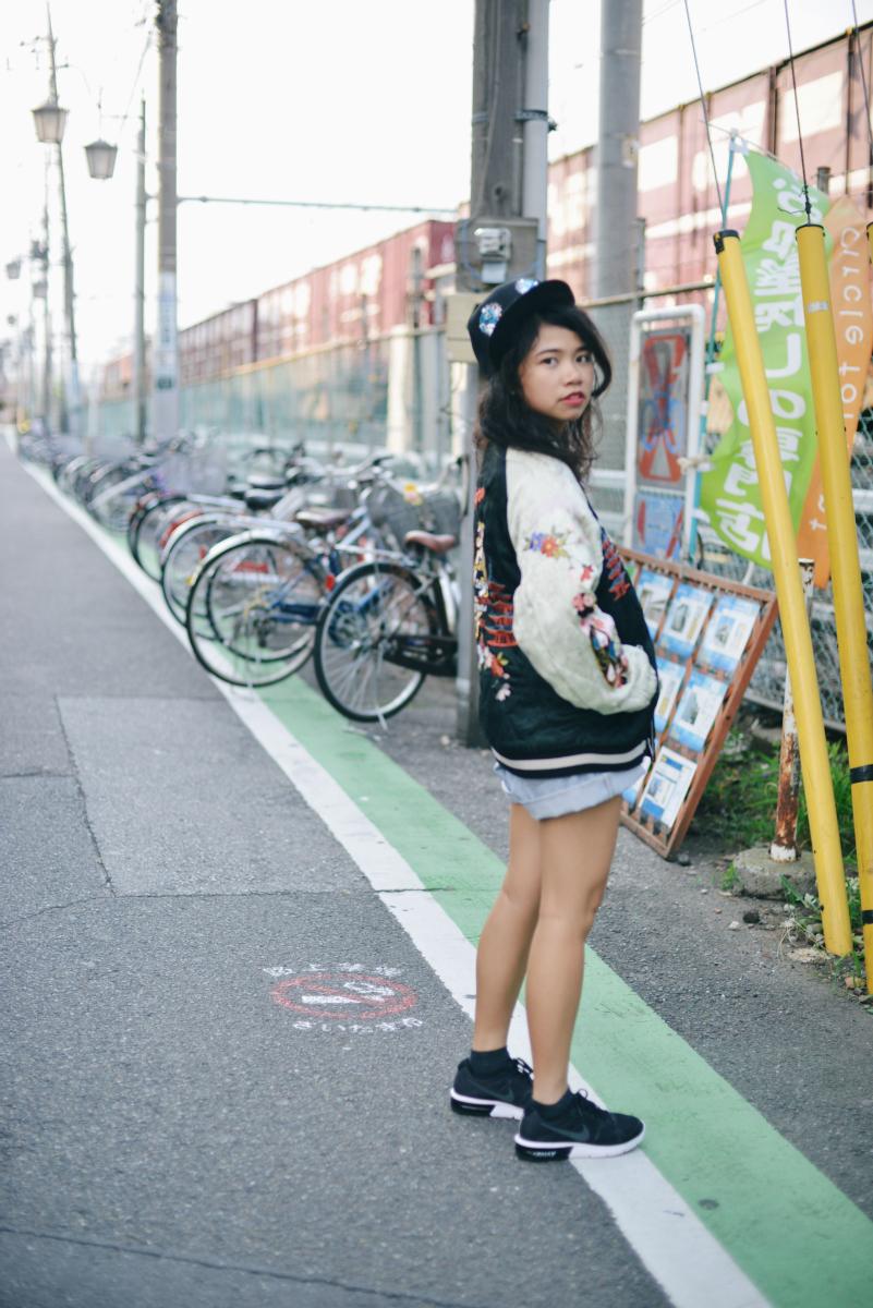 Japanese Souvenir Jacket Sukajan Skajan Shishumania 8