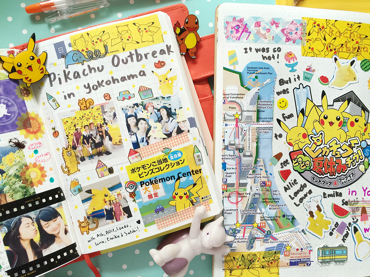 Kawaii Hobonichi With Me Rainbowholic Diary Journal 23