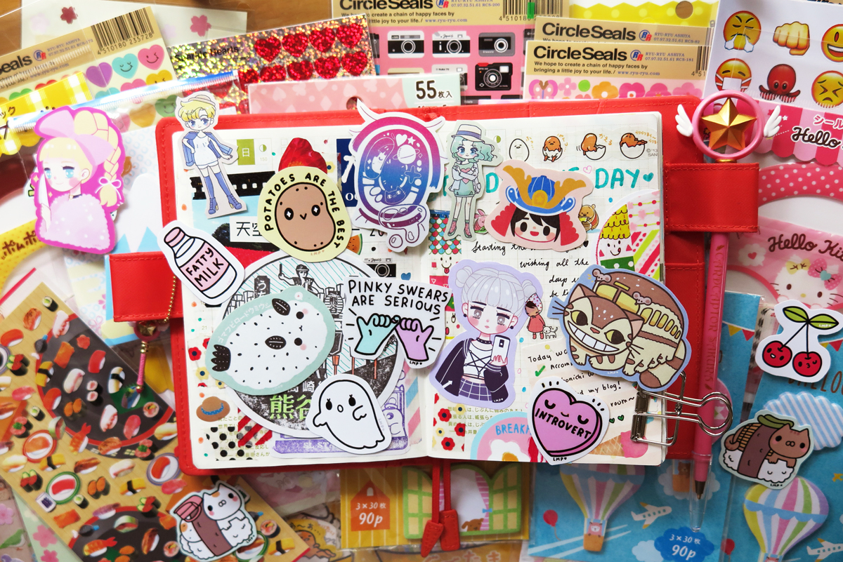kawaii sticker stationery rainbowholic shop japan 3
