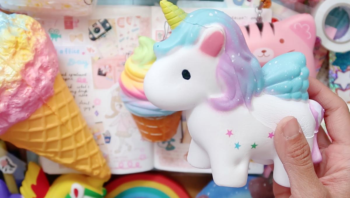 Unicorn & Kawaii Food Squishies from SQUISHY KIOSK + Giveaway! ?? The Rainbowholic Me
